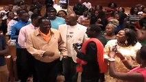 Emmy Kosgei, Eric Omondi Entertain Kenyans in Boston