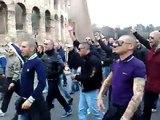 Ascolani - Manifestazione ultras a Roma - No alla tessera del tifoso