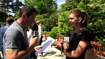 French lesson with Simona Halep - 2015 French Open