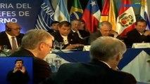 Reunión del Consejo de Jefas y Jefes de Estado y de Gobierno de la UNASUR