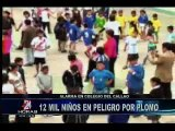 Niños infectados con plomo en el Callao