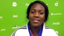 Clarisse Agbegnenou - médaille de bronze judo -63kg