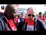Claude Leads Giroud Chant (Na Na Na) !!! - Arsenal 3 Man City 0