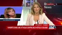 Tunisie: attaque terroriste sur une plage de Sousse, 27 morts
