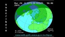 En vivo: Cómo y donde ver el eclipse total de Sol, por Internet. 20/3/2015