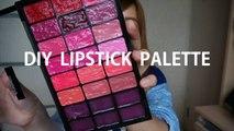 【WING.C】自製屬於自已的唇膏盒 | DIY Lipstick palette ♥