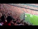 Fans React to Santi Cazorla Goal At Wembley - Arsenal 3 Man City 0