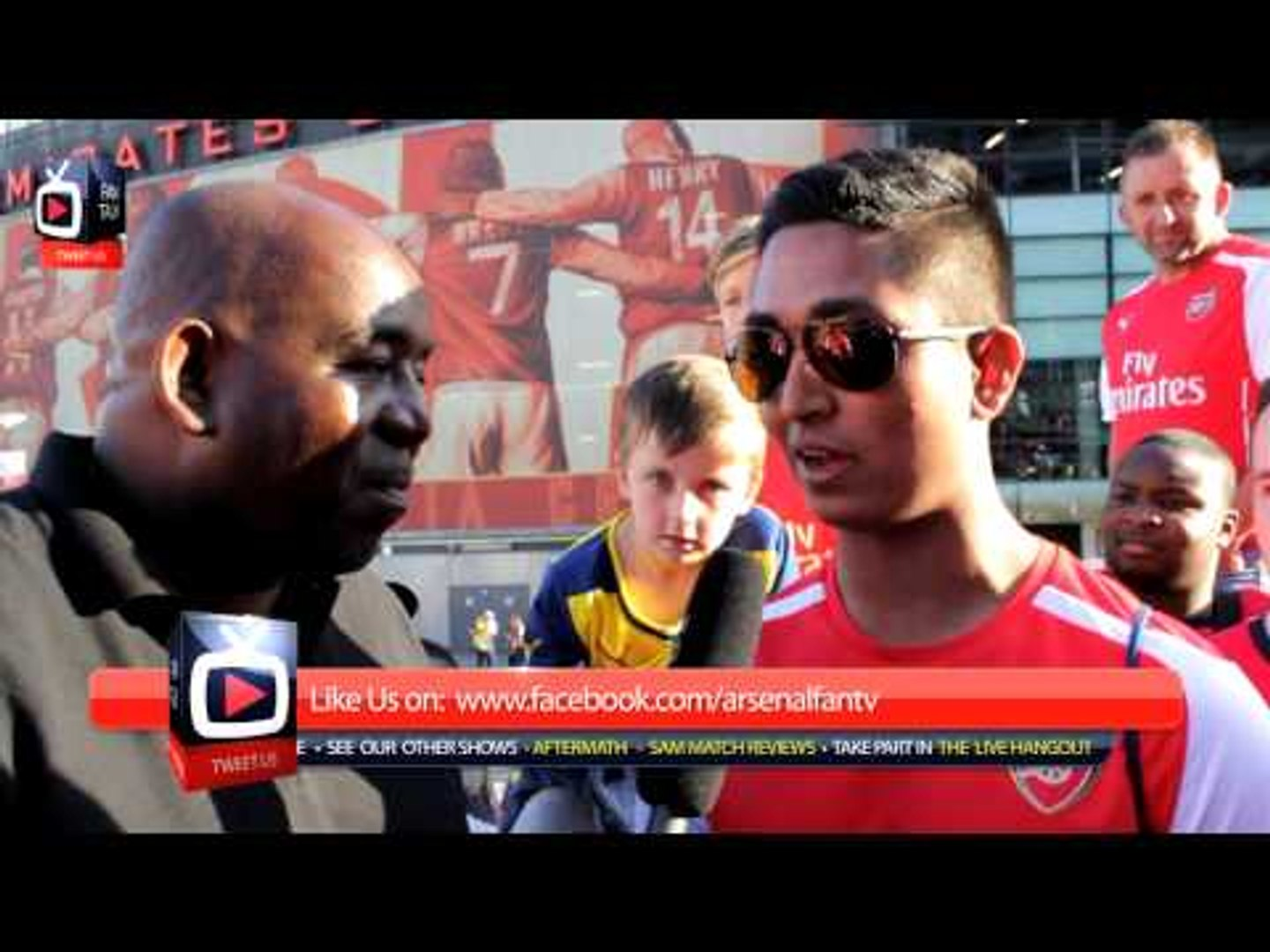 I Was Thrilled For Yaya Sanogo!!! - Arsenal 5 Benfica 1