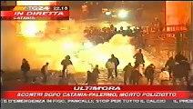 UI Ultras Italia Derby Siciliano Catania Palermo 02 02 2007 Italy