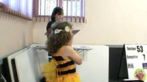Honey Bees poem performed by 8 year old and 12 year old brother and sister duo