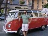 vw bug Volkswagen Maggiolino 8° raduno Maggiolino Marino hood ride