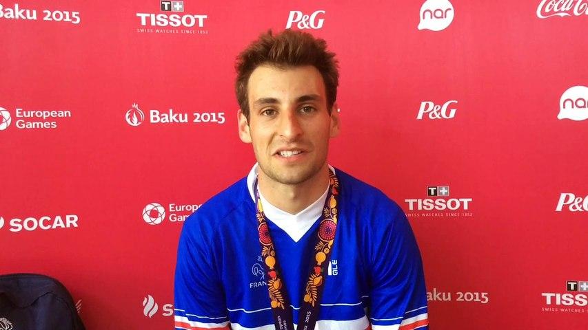 Joris Daudet - Médaille d'or BMX