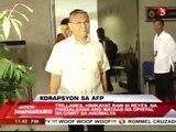 SENATOR TRILLANES SAYS MALACANANG BEHIND THE AFP CORRUPTION NOT REYES by Andrea Bautista