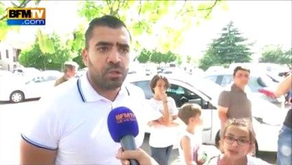 Attentat dans l'Isère: des voisins du suspect et un ami de la victime témoignent