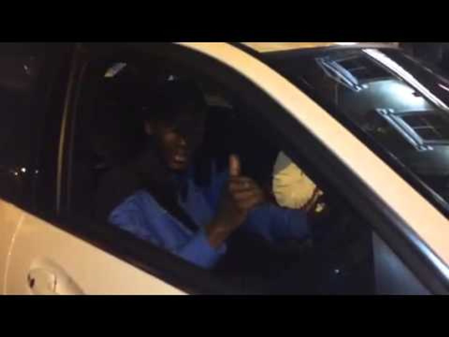 Yaya Sanogo leaving Emirates after the game