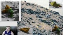 Alien Faces Near Pyramid On Mars, Rover Photo, June 2015, UFO Sighting Daily.