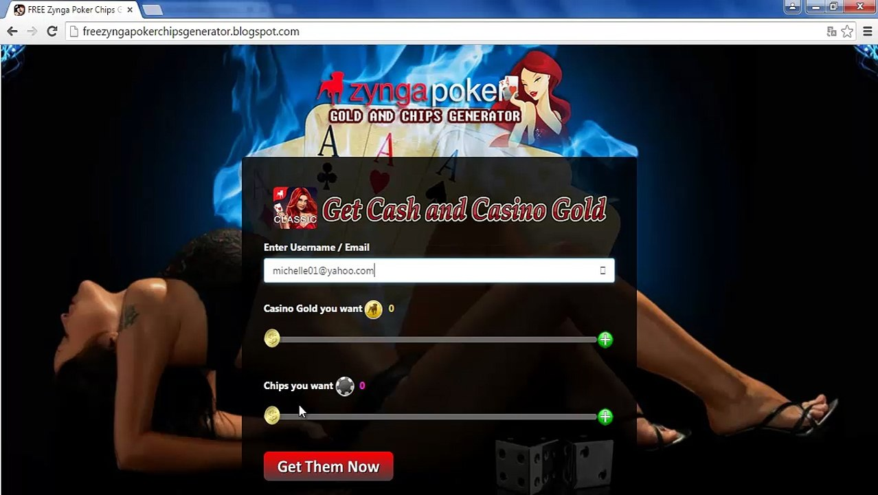 How To Get Free Zynga Poker Chips With Zynga Poker Chips Generator Video Dailymotion