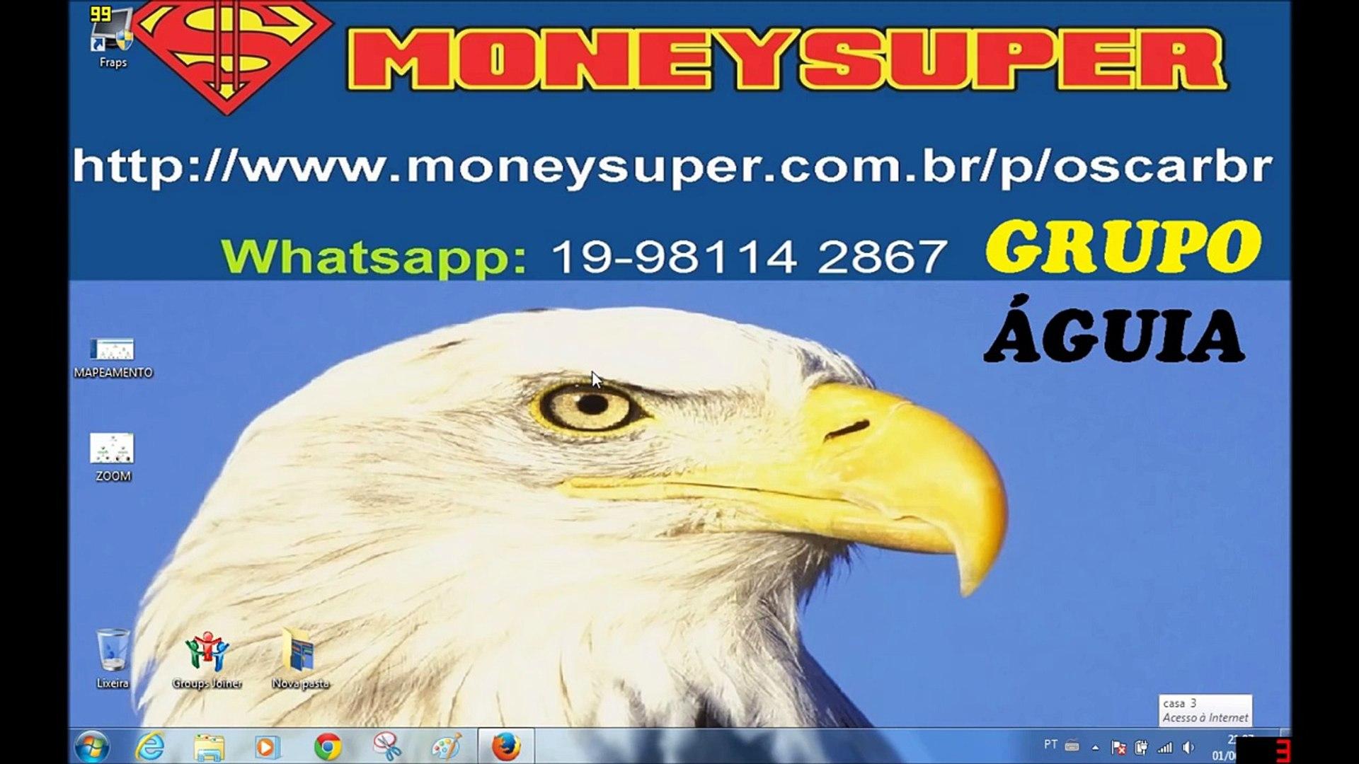 Money Super Derramamento Grupo Águia -  Como funciona o Sistema de Ajuda Mutua MONEY SUPER?