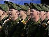 """HINO NACIONAL DA RUSSIA CANTADO PELOS MILITARES NO """"DIA DA VITÓRIA""""."""