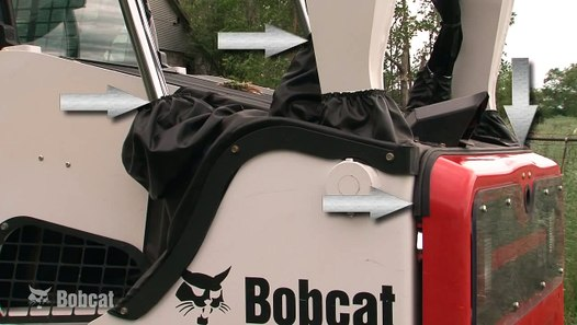 Bobcat Forestry Cutter Attachment  Applications Kit