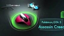 Pokémon X et Y : Comment avoir une pierre feu,eau et plante ! [FR]