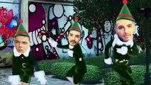 Tokio Hotel Christmas dance (very funny) Bill and Tom Kaulitz, Georg Listing, Gustav Schäfer
