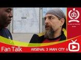 Arsenal FC 3 Man City 6 - We Got Spanked says Bully