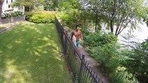 H67 Montreal River Surfing Aerial Video - Richard Yu-Tim / HURLEY