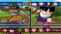 Dragon Ball Budokai Tenkaichi 3 Goku & Vegeta & Gohah Ultimate vs Cooler & Janemba & Freeza FullPower