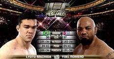 UFC FIGHT NIGHT EVENT Lyoto Machida vs Yoel Romero (simulation event)