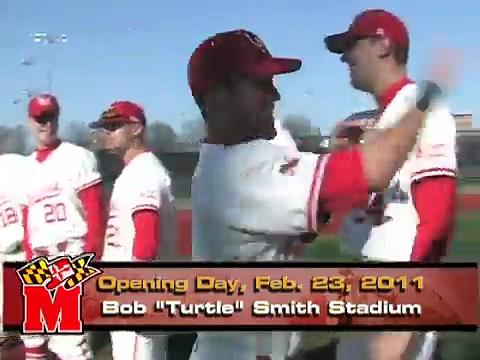 Maryland Baseball – Opening Day Highlights