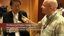 Interview with Prof Eddie Kuo, Nanyang Technological University - ICA Conference 2010