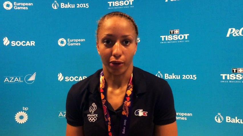 Estelle Mossely - médaille d'argent boxe 60kg