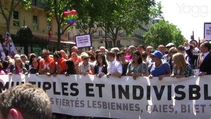 Marche des fiertés 2015: le reportage
