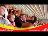 Arsenal FC 3 Sunderland 1 - Away Supporters at the Stadium of Light - ArsenalFanTV.com