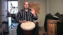 How To Play West African Drums : Beginning Djembe Drum Tips