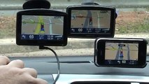 Tomtom Go930-XL Greek-iPhone Tomtom  Road Comparison