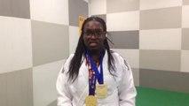 Emilie Andéol - Médaille d'or judo +78kg