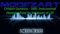 Childish Gambino - 3005 Instrumental (Remake) Produced by Modezart of LEP