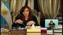 09 de MAY. Informe sobre ayuda y subsidios a damnificados por inundaciones. Cristina Fernández