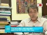 Vladimir Villegas atacando a Chávez, VTV y La Hojilla en el programa del fascista Lanata de Clarín