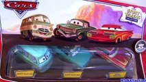 6 Disney CARS FRED Chase Fred with Bumper Stickers, Fred with Lenticular Eyes Pixar car-toys review