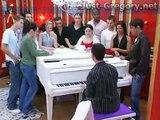 """Grégory Lemarchal chante """"A corps perdu"""" en version piano-voix"""