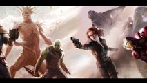 Guardians of the Galaxy / Avengers CONCEPT ART REVEALED!