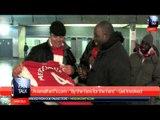 Fan Talk #7 - Per Mertesacker give a lucky fan his shirt - ArsenalFan TV.com