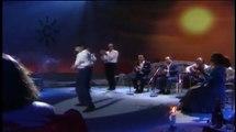 Israel Galván, con quince años, baila bulerías acompañado al cante por Chano Lobato