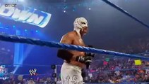 WWE Smackdown : Rey Mysterio Announces Kane Attacked The Undertaker WWE Smackdown 8/6/10