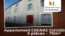 A louer - Appartement - COGNAC (16100) - 3 pièces - 70m²