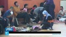 عائلات سورية في رحلة عذاب إلى أوروبا