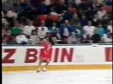 Midori Ito 1990 Worlds SP UKTV